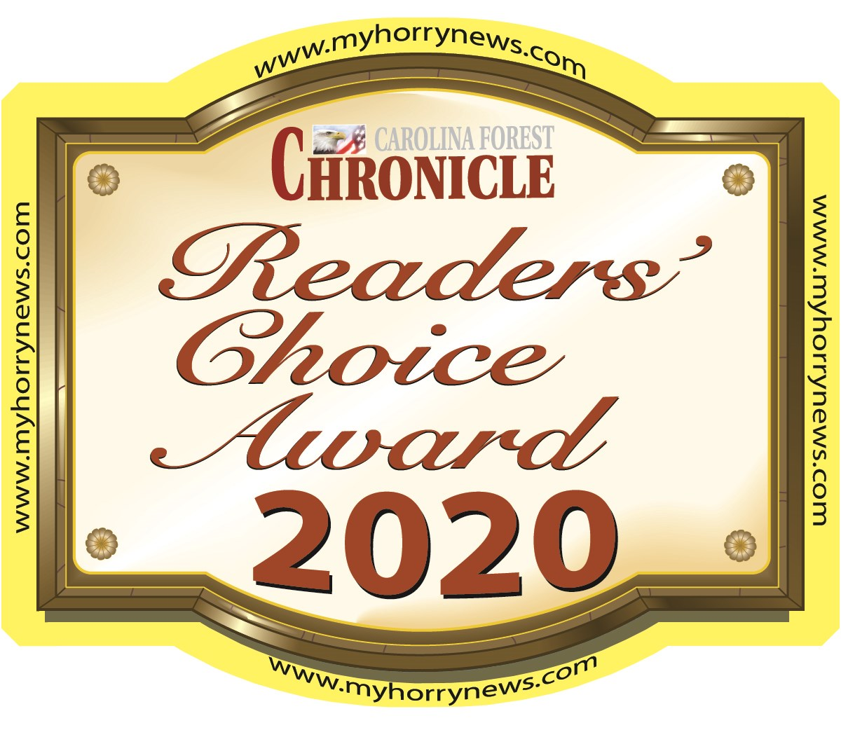 2020 Carolina Forest Chronicle Readers Choice