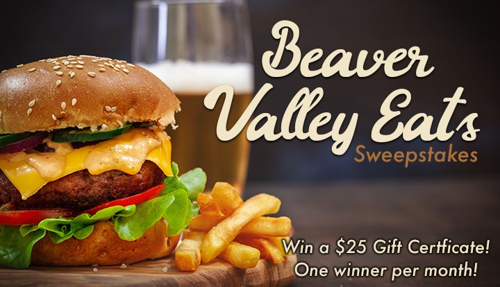 Beaver Valley Eats Sweepstakes