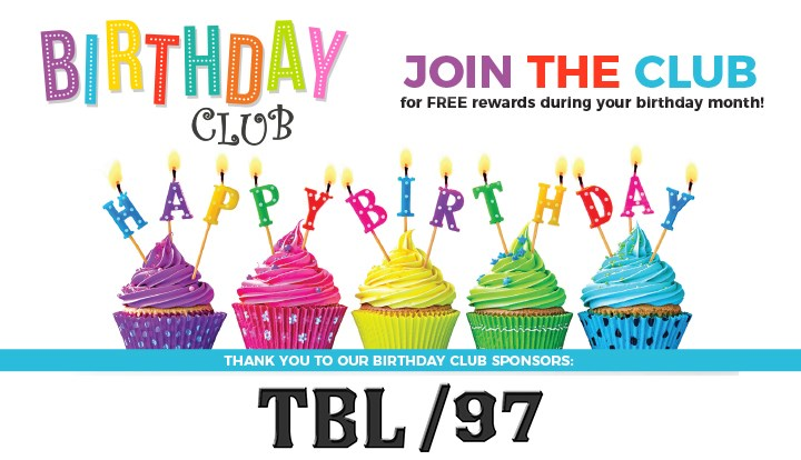 Birthday Club Sign Up