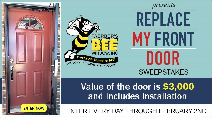 Bee Window Front Door Giveaway