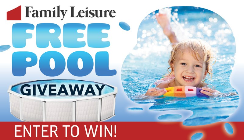 Family Leisure Free Pool Giveaway