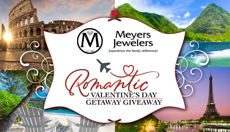 The Romantic Valentine's Day Getaway Giveaway