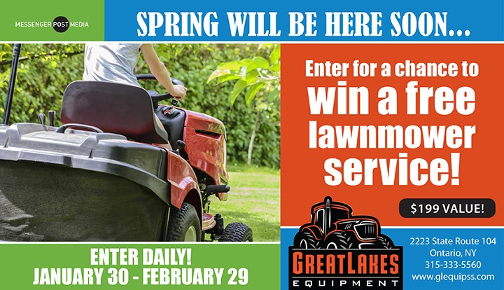 Great Lakes Equipment Lawnmower Service Giveaway