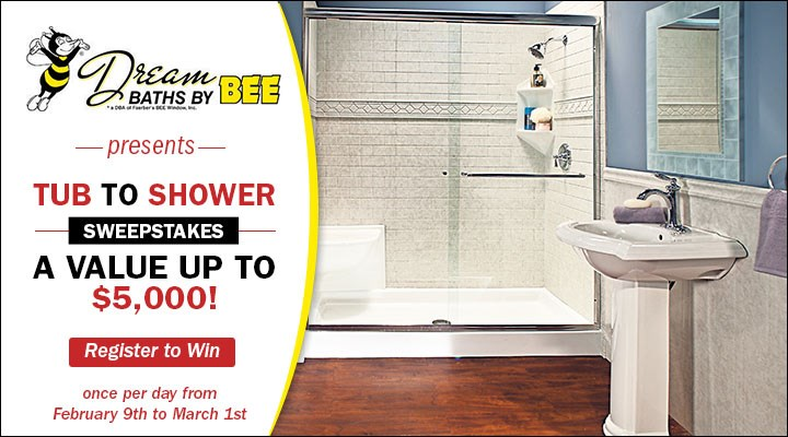 Tub to Shower Sweepstakes