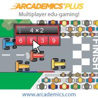 Arcademics multiplayer edu-games