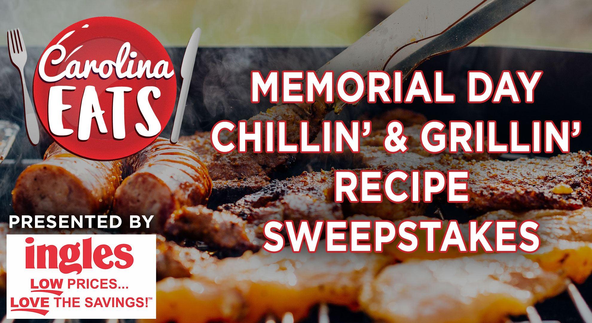 Carolina Eats Memorial Day Recipe Sweepstakes