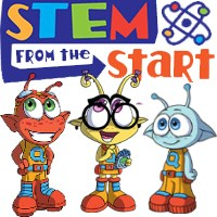 STEM from the start Logo