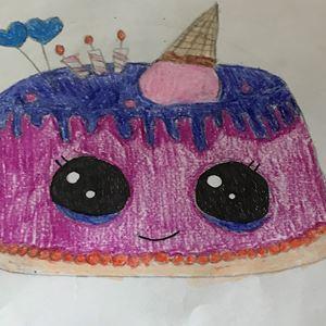 Surprising See 145 Drawings Of Sweet Treats Houston Kids Sent Us As Part Of Funny Birthday Cards Online Necthendildamsfinfo