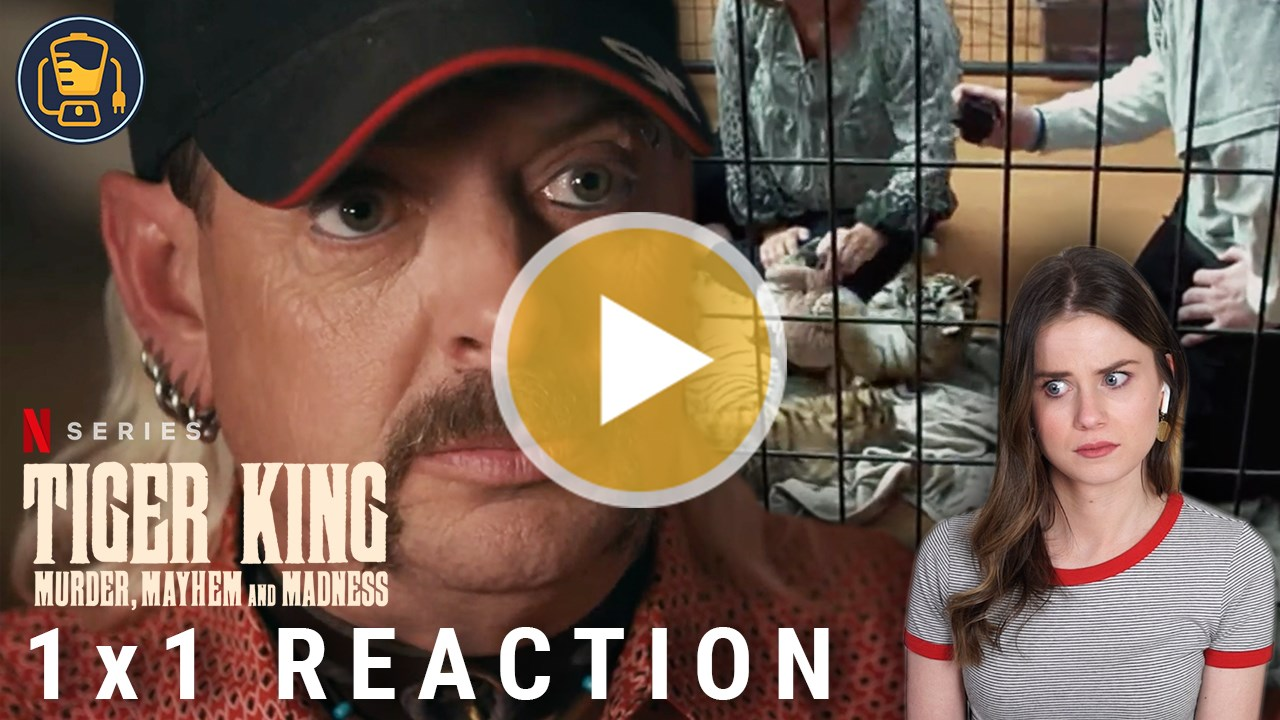 Watch Me React To Episode 1 Of Netflix's Tiger King