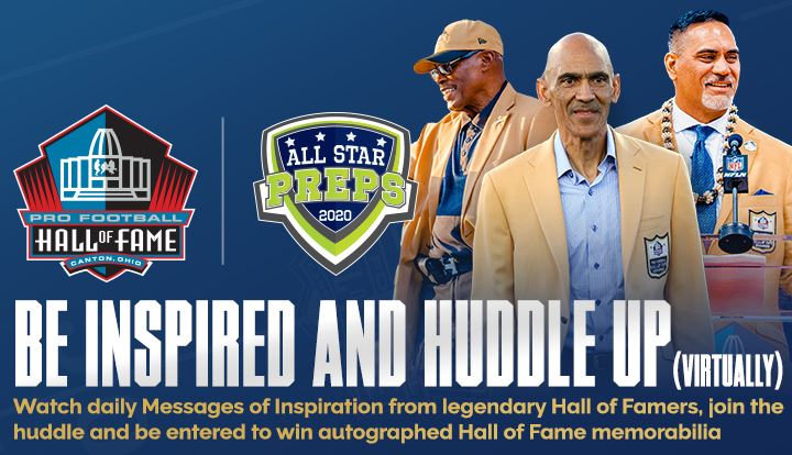 Be Inspired and Huddle Up Sweepstakes