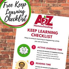Keep Learning Checklist
