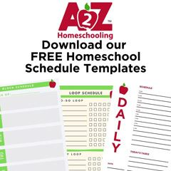 Free Homeschool Schedule checklist