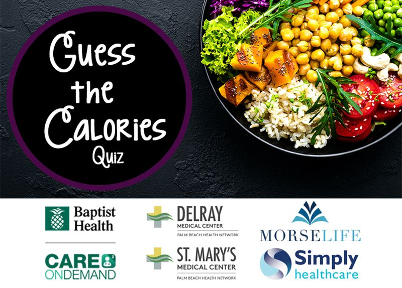 Guess the Calories Quiz