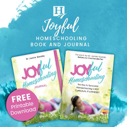 Joyful Homeschooling Book and Journal