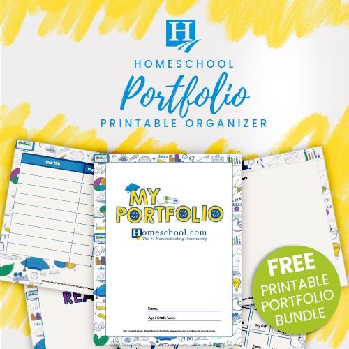 Free Homeschool Portfolio Pack