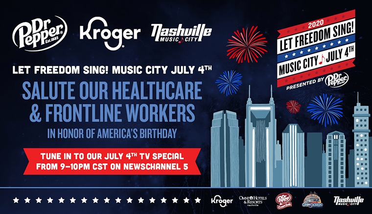 Let Freedom Sing July 4th Nashville Experience Giveaway