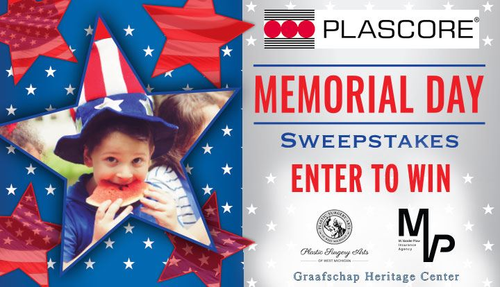 2020 Memorial Day Sweepstakes