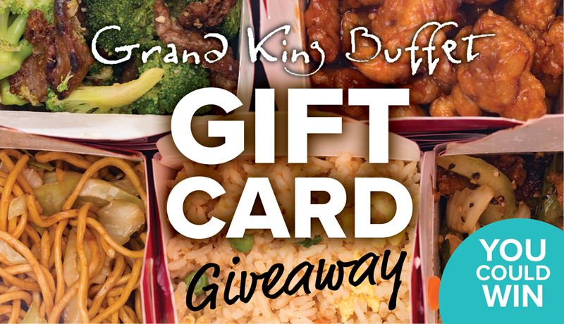 Grand King Buffet Gift Card Giveaway