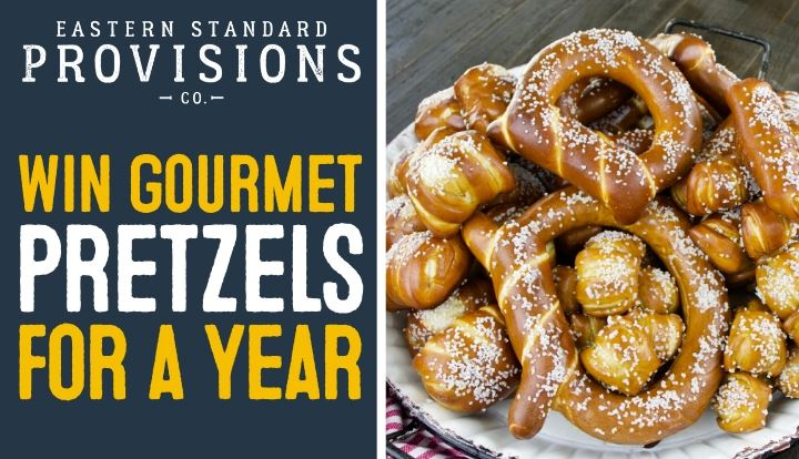 Win Gourmet Pretzels For A Year Emails ONLY