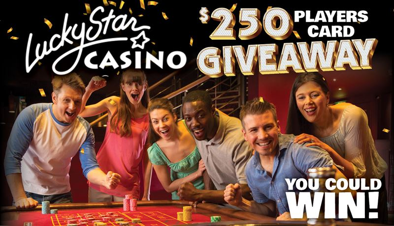 $250 Lucky Star Players Card Giveaway