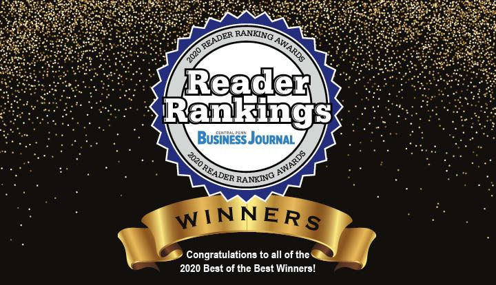 2020 Central Penn Business Journal Reader Rankings Finalists