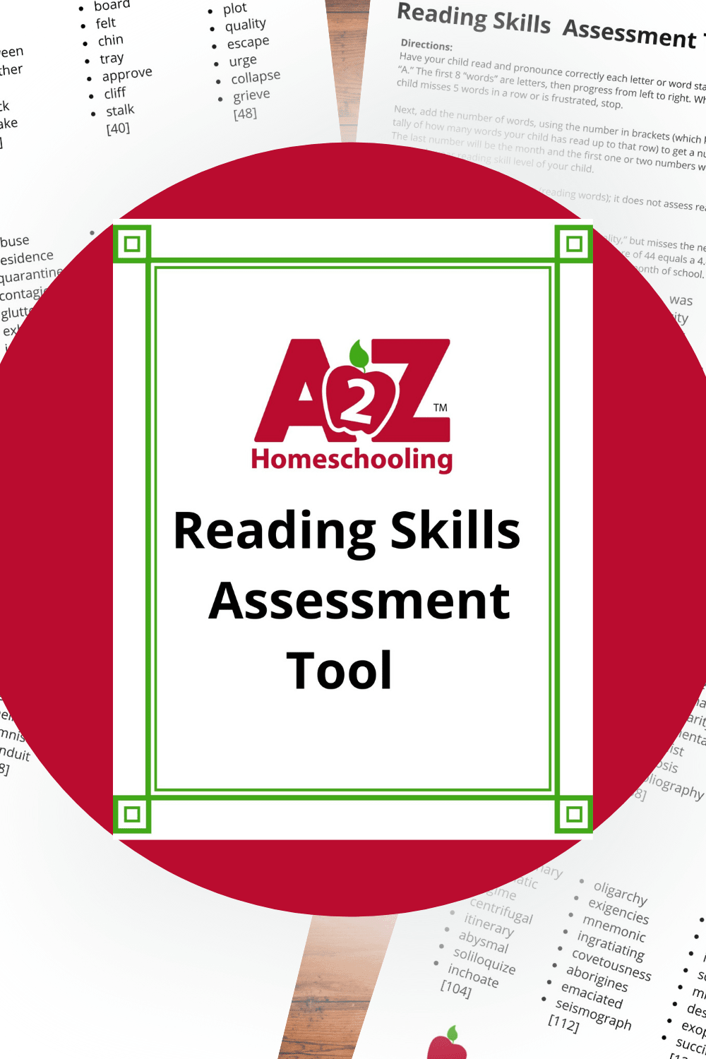 Test Your Kids Reading Level A2z Homeschooling