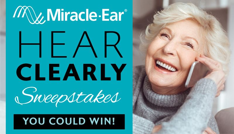 Miracle-Ear Hear Clearly Sweepstakes