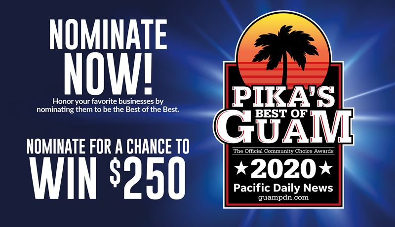 Pika's Best of Guam Nomination Ballot example