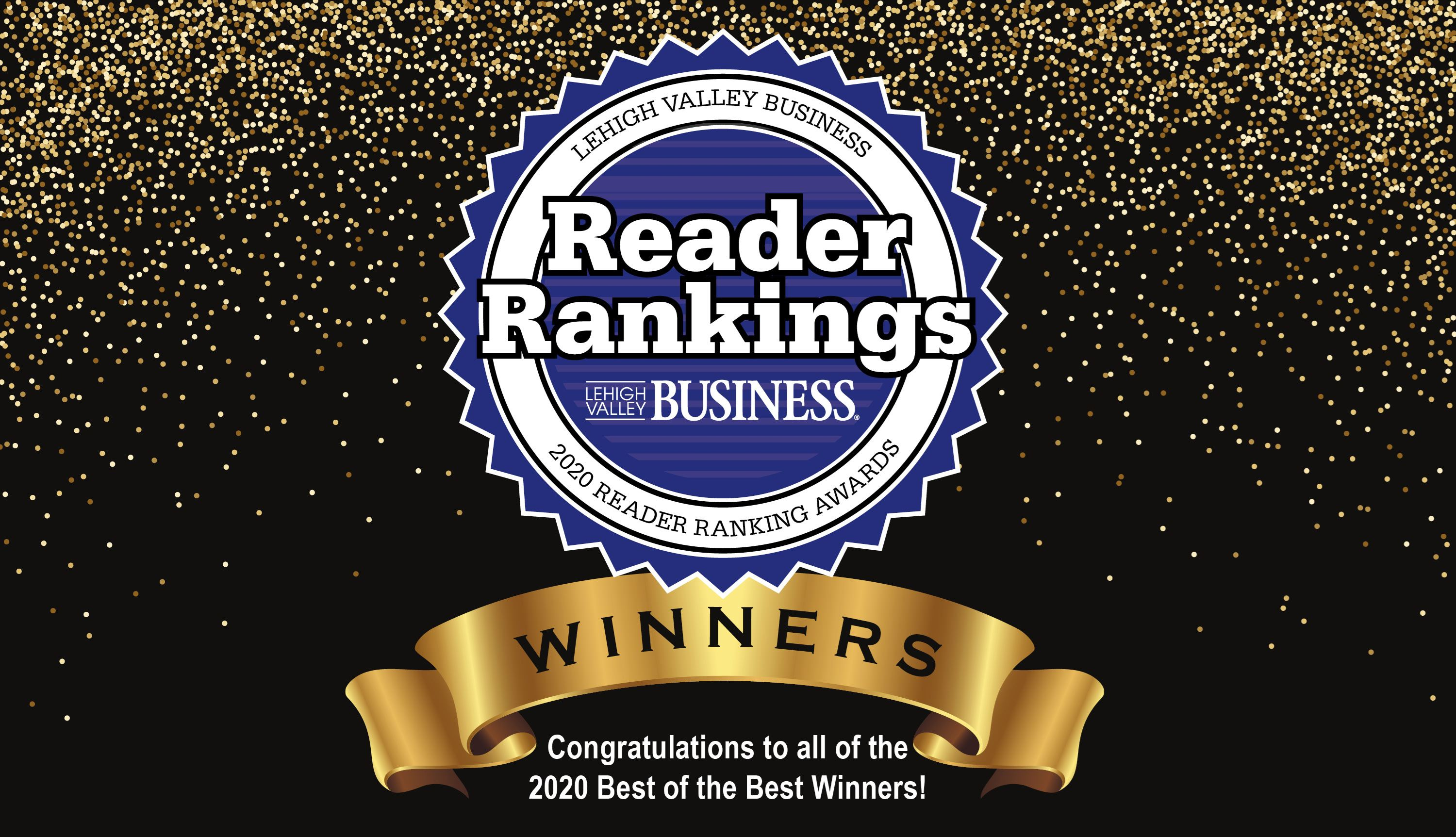 2020 Lehigh Valley Business Reader Rankings Finalists