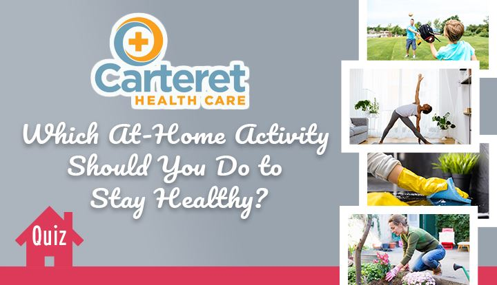 Which At Home Activity Should You Do