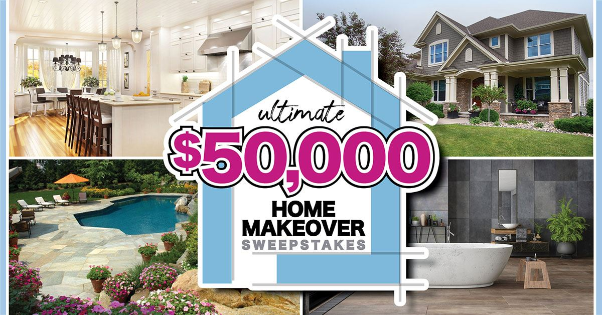 NFW Daily News Ultimate ,000 Home Makeover Sweepstakes