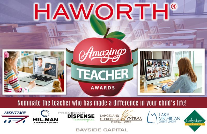 2020-2021 Amazing Teacher Awards