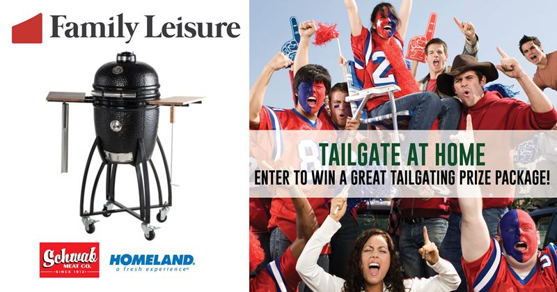 Tailgate At Home Sweepstakes