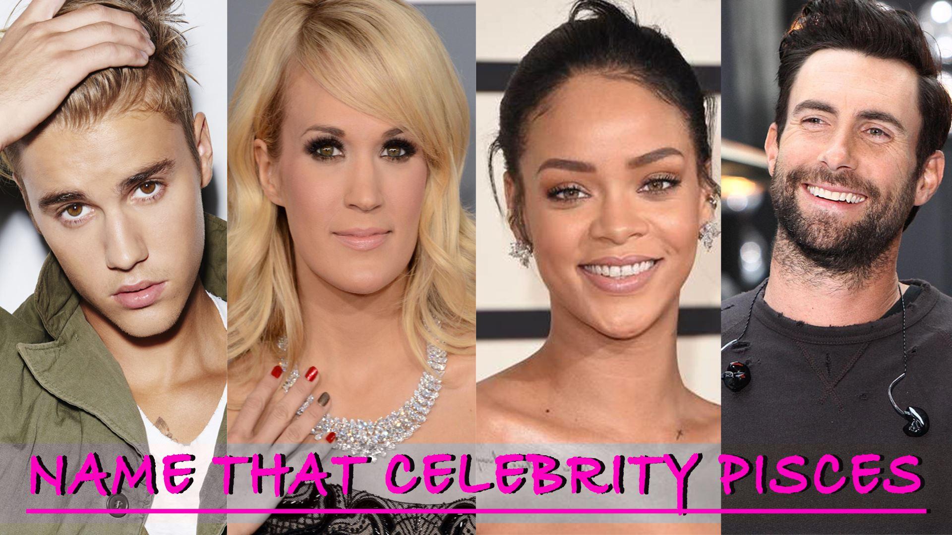 Strange Name That Celebrity Pisces Quiz Radionow 100 9 Hairstyle Inspiration Daily Dogsangcom