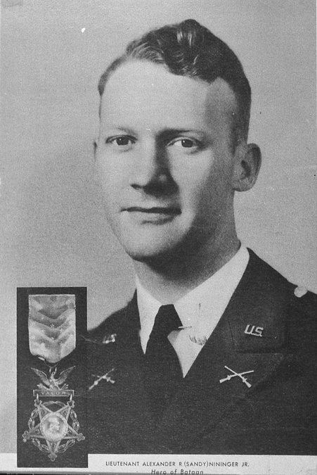 """Alexander """"Sandy"""" Nininger Jr., who was born in Gainesville, was the first Medal of Honor recipient during World War II. (Photo courtesy History Fort Lauderdale)"""