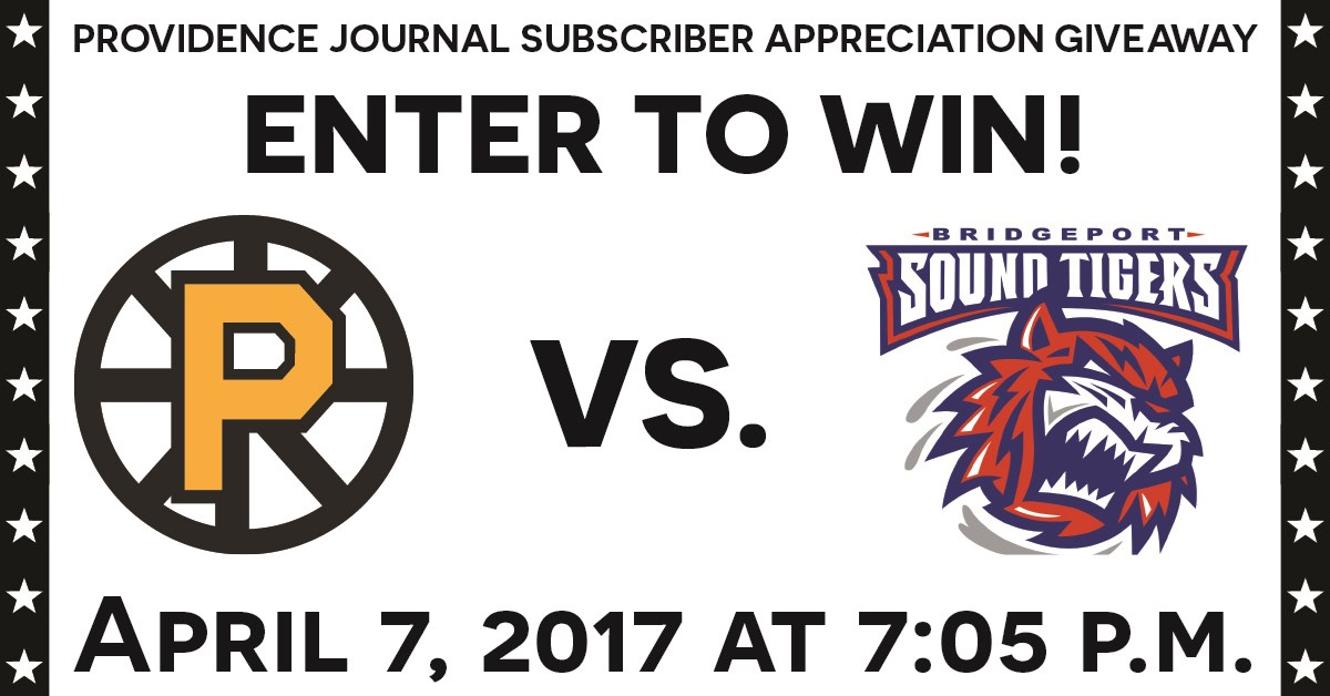 Providence Bruins Giveaway - Contests and Promotions