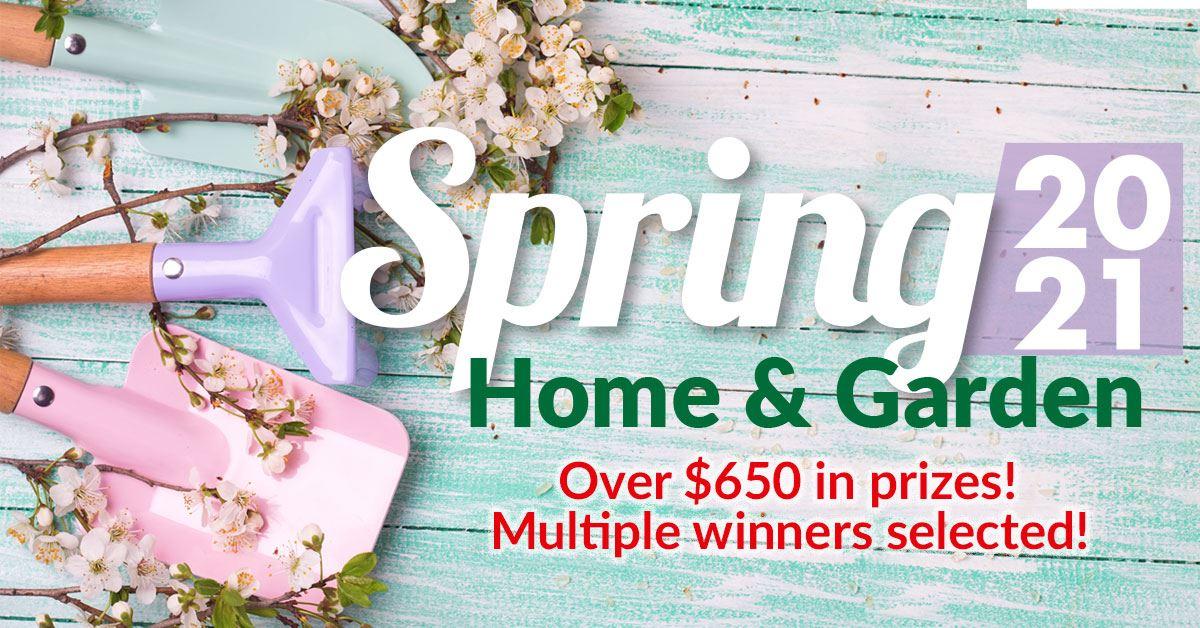 Spring Home & Garden Sweepstakes
