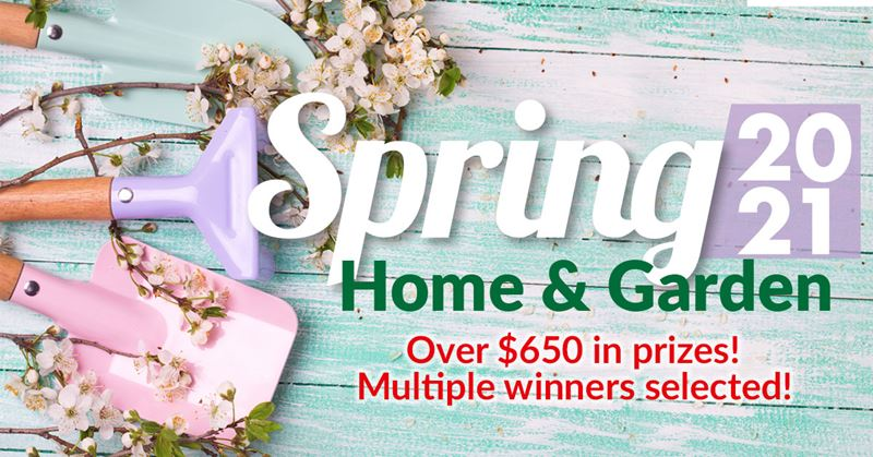 Spring Home & Garden Sweepstakes