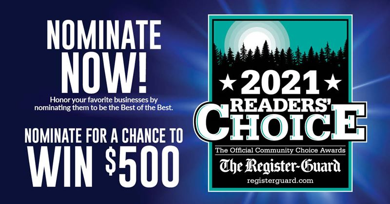 2021 Register Guard Readers Choice