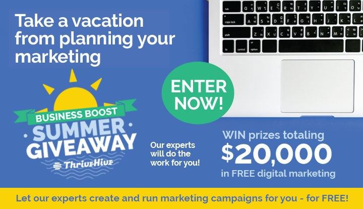 Thrivehive boost sweepstakes contests and promotions holland its time to take a fresh look at your digital marketing and get closer to your best prospects enter now for your chance to win a free digital marketing reheart Choice Image
