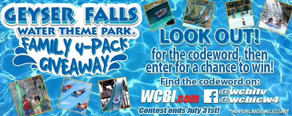 2017 Geyser Falls Family 4Pack Giveaway