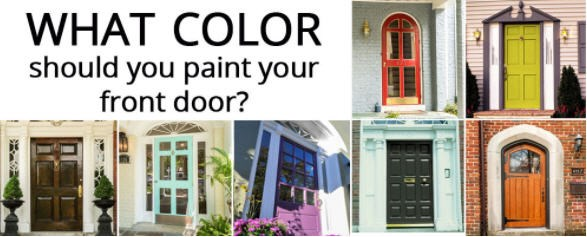 what color should you paint your front door? | richmond