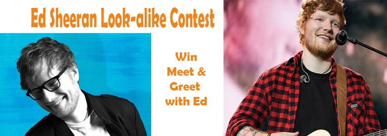 Upickem submit a photo of you or a friend dressed up as ed sheeran to win meet greet tickets with him on september 12th at the centurylink center m4hsunfo