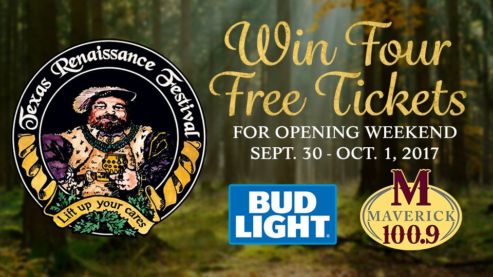 Win a 4-pack of Tickets to Opening Weekend of Ren Fest!