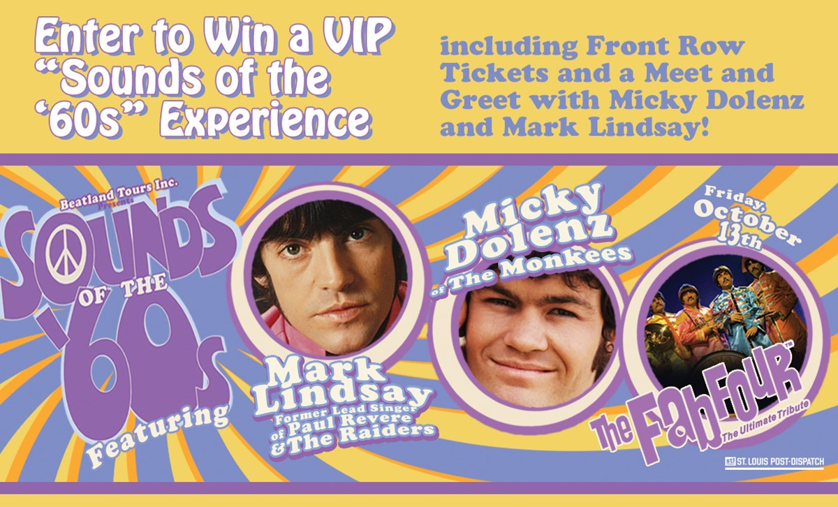 Sounds Of The 60s Vip Experience Ticket Sweepstakes