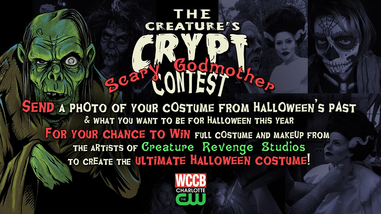the creatures crypt and wccb have teamed up to give you the ultimate halloween experience ever wanted your halloween makeup done by a professional special