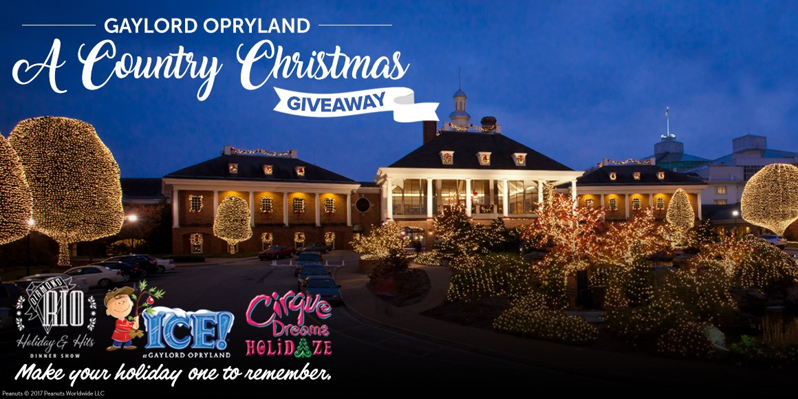 Opryland christmas packages 2018