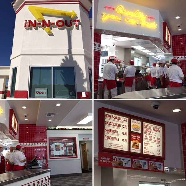 In-N-Out Burger - Living in SA