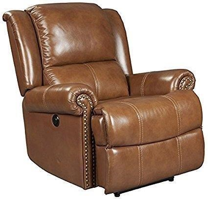 WINDERMERE MEGA MOTION LEATHER RECLINER (Value: $800) Courtesy Of Tarheel  Furniture