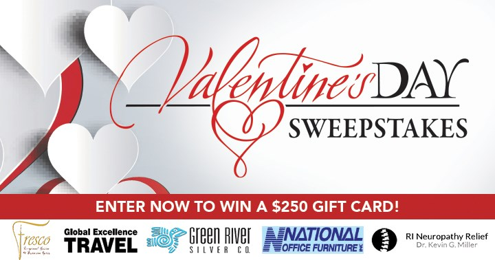 valentines day sweepstakes contests and promotions